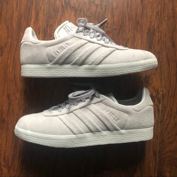 53798f3de5cafe adidas Shoes - adidas gazelle Stitch and Turn light grey